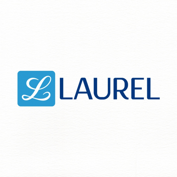 Laurel logó redesign