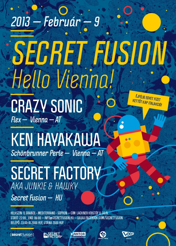 Secret Fusion - Hello Vienna!